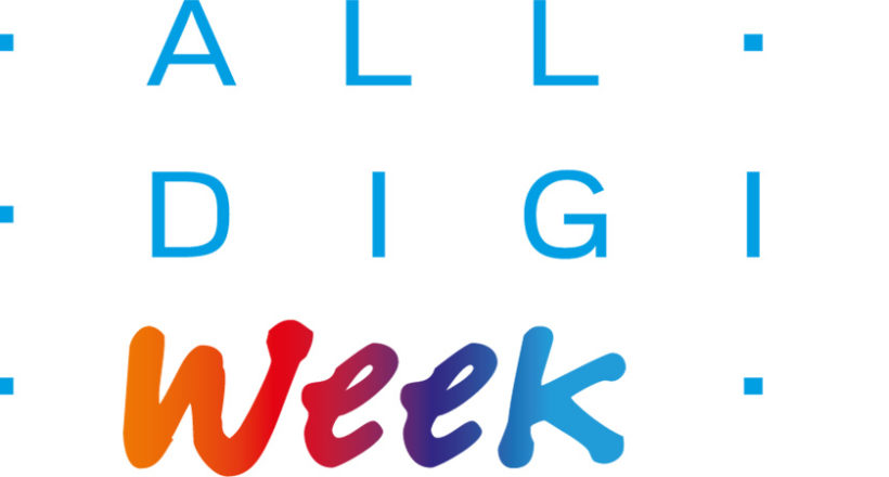 All digital week logotyp
